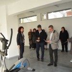 Откриване на фитнес зала в ПГСАГ